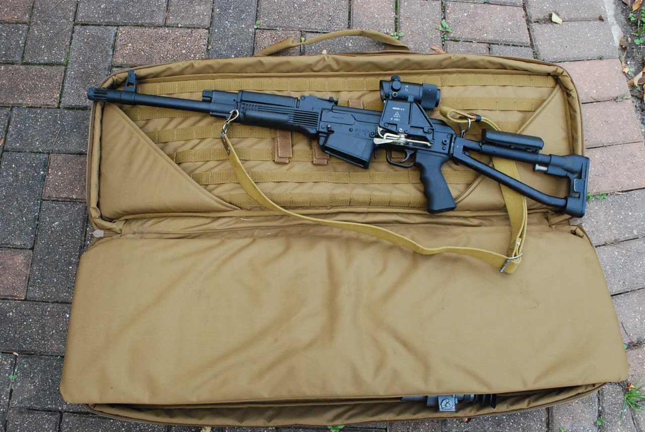 What S A Good Soft Case For A Non Folding Ak With An Optic