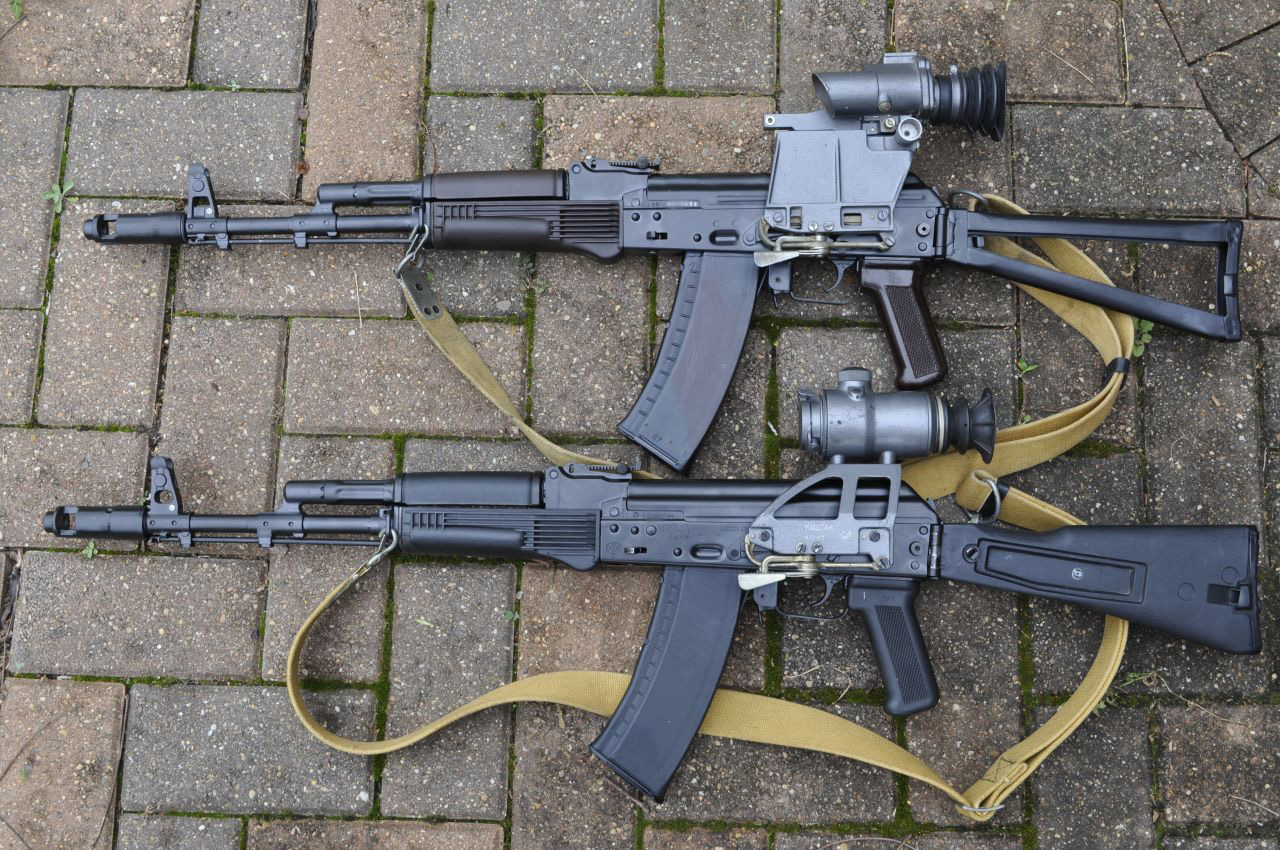 Ak74m: 1988 Izzy AKS-74N And AK-74M From Mario At PoHF